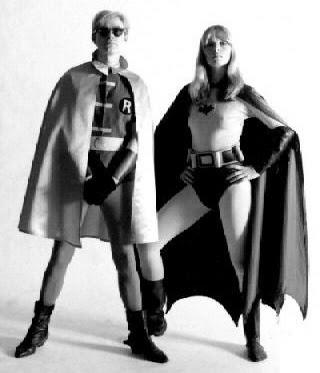 Batman et robin nue