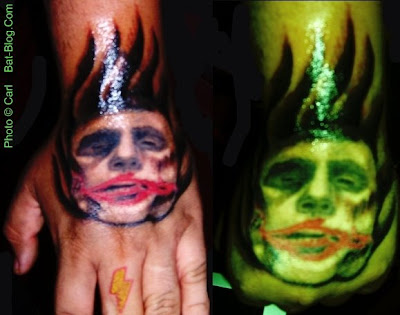 Gothic Batman & The Dark Knight Joker Tattoo Art Photos!