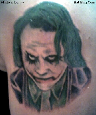 Batman Tattoos: JOKER / HEATH LEDGER TRIBUTE