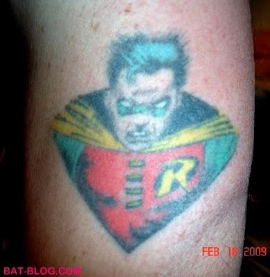 December 26/ Robin's tattoo   Flickr - Photo Sharing!