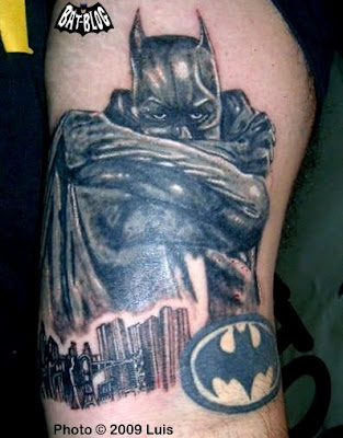 BATMAN & JOKER TATTOO ART: A Fan Gets Some Ink Done!
