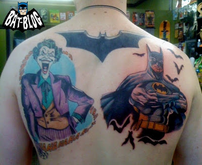 Batman Tattoo on Two Incredible Batman   Joker Tattoo Art Photos   Your Number 1 Toys