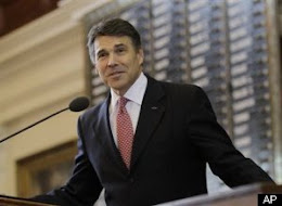 Republican Gov. Rick Perry Damns Federal Money, Then He Takes It...