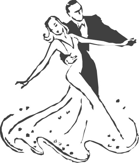 ballroom dancer coloring pages - photo#6