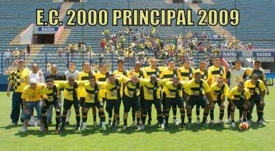 E.C. 2000, VICE-CAMPEÃO 2009 ...