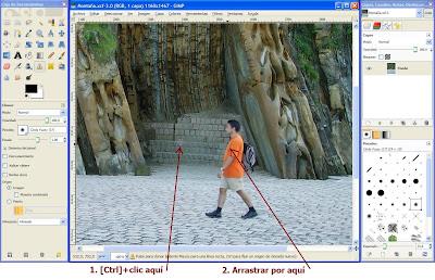 Tutorial GIMP - Quitar elementos de imágenes
