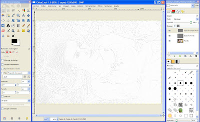 Tutorial GIMP - convertir fotografía a dibujo a lápiz