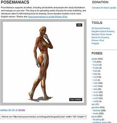 Dibujar el cuerpo humano - Posemaniacs