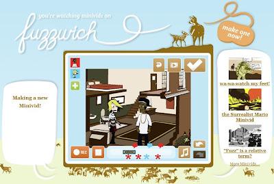 Fuzzwich - Crea animaciones sencillas