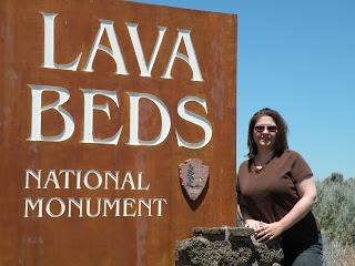 Lava Beds National Monument entrance