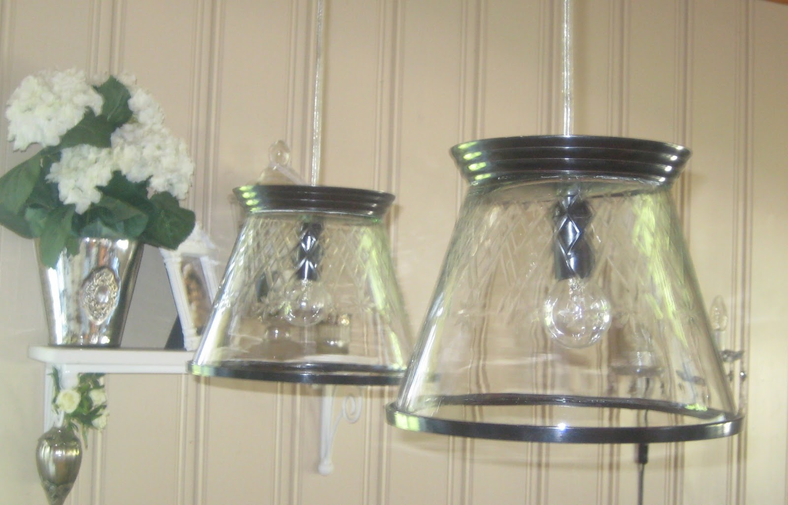 Fra gammelt til nytt: Hjemmelagde lamper