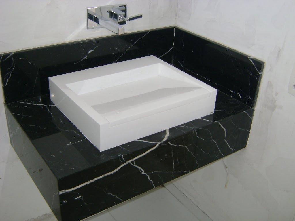 Mármore Marrom Imperador #4B4D5C 1024x768 Bancada De Banheiro Em Marmore Carrara