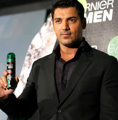 Actor John Abraham at Garnier?s New Mens Deodorant launch
