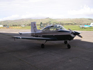 AESL Airtourer Super 150, ZK-CYS
