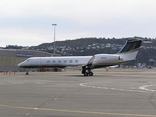 Gulfstream GV, N85V