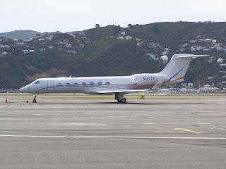 Gulfstream GV-SP, N107GV