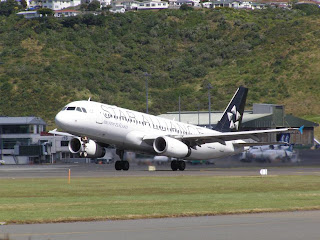 Airbus A320, ZK-OJH, Air New Zealand