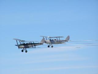 de Havilland DH82A Tiger Moth, ZK-BLK & ZK-BLV
