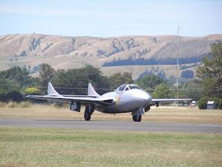 de Havilland DH115 Vampire, ZK-RVM