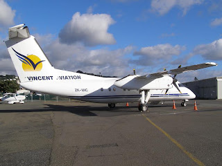 De Havilland Canada DHC-8-102, ZK-VAC, Vincent Aviation