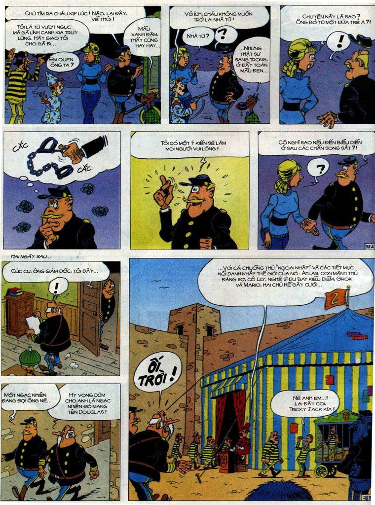 Lucky Luke Chap 71 - Trang 38
