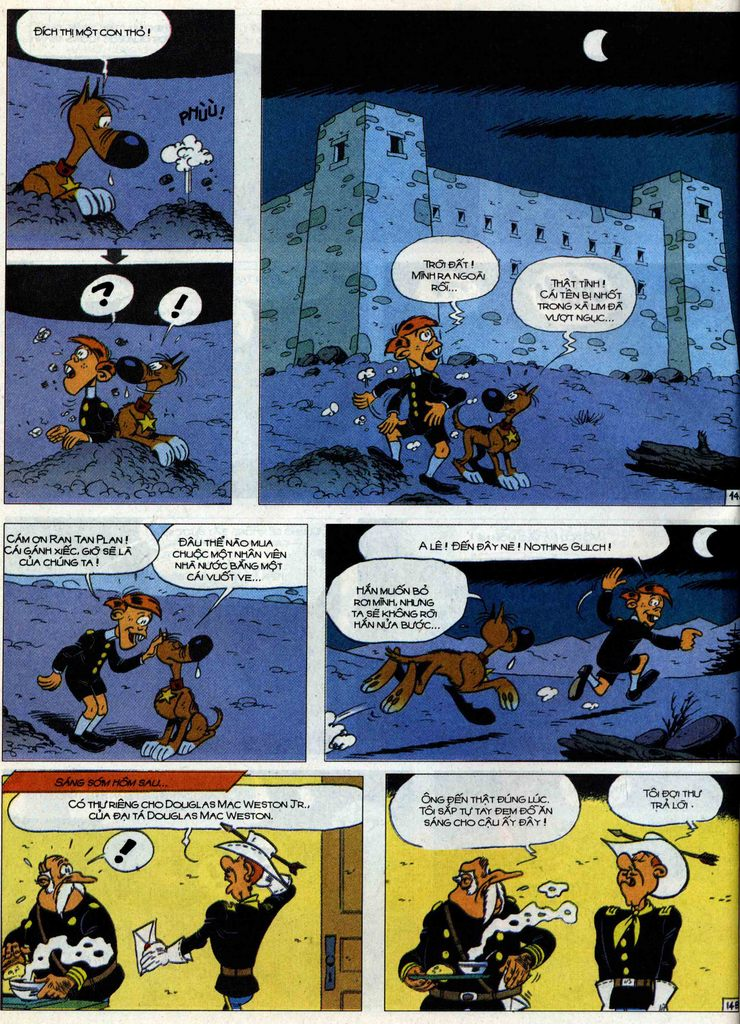 Lucky Luke Chap 71 - Trang 14
