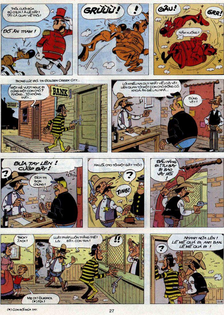 Lucky Luke Chap 71 - Trang 25