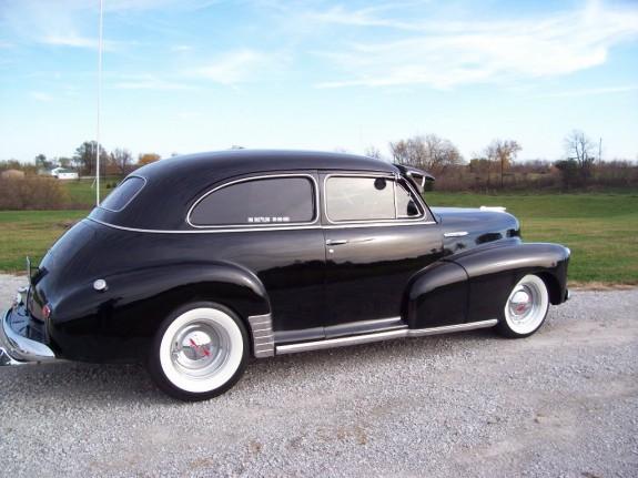 1947 chevrolet 4 door classic cars muscle cars never die for 1947 chevy fleetline 4 door