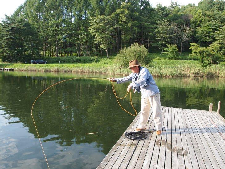 Four seasons angling club fishing ponds near mount fuji for Private fishing ponds near me