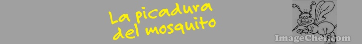 La picadura del mosquito
