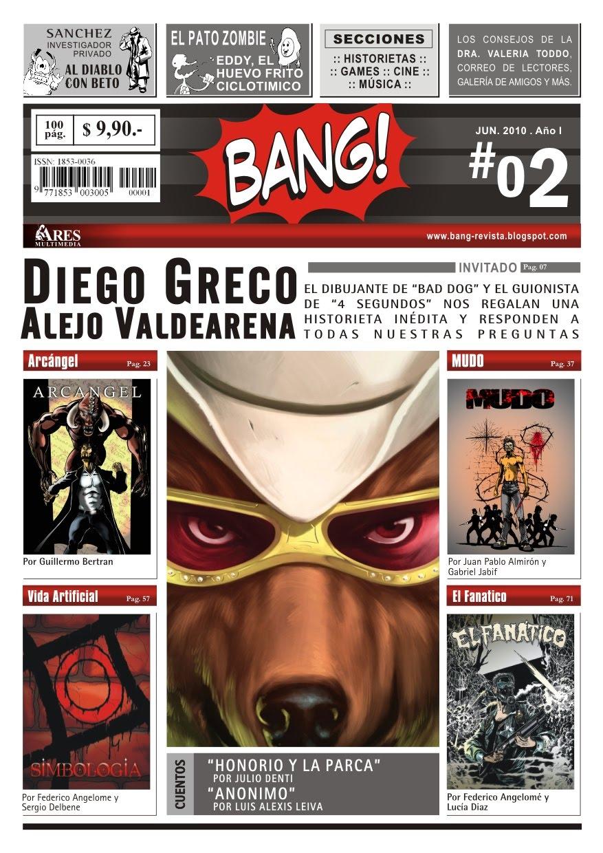 Revistas BANG 1 y 2.