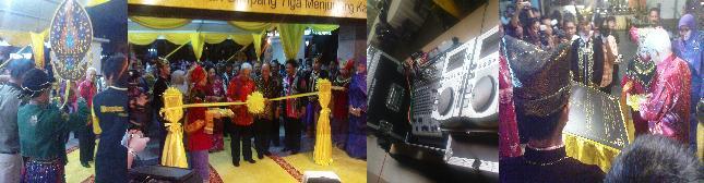 Tuanku Sultan Perak Launched Simpang Restaurant