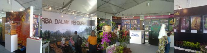 AGROFEST 2010 Taman Herba Booth Design