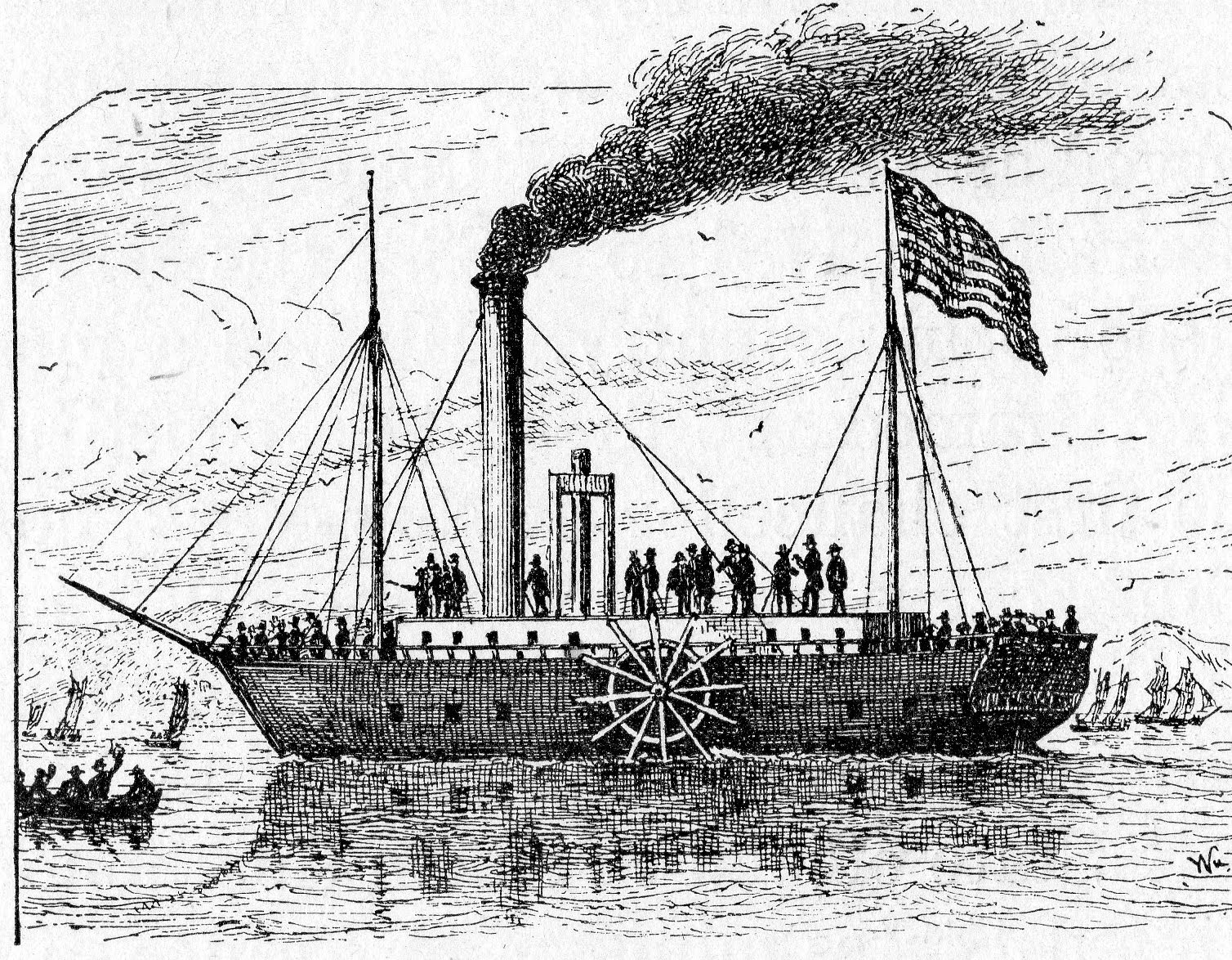 Worksheet Steamboat Inventor Robert Fulton heretic rebel a thing to flout fultons folly chugs up river robert north steamer later known as the clairmont