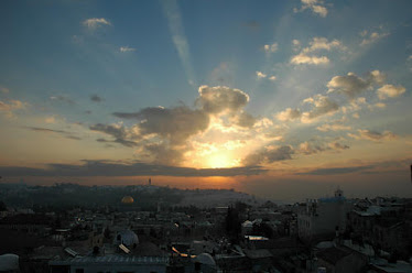 Sunrise over Jerusalem