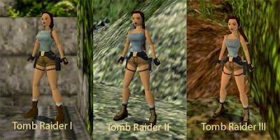 Evolucion de Tomb Raider