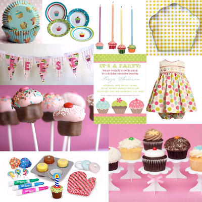 Oopsy Daisy Cupcake Party Board
