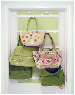 Purse Wall Hanger handbags & accessories: storage: if purses are your weakness