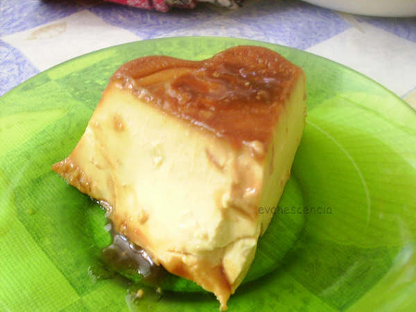 trozo flan turron jijona