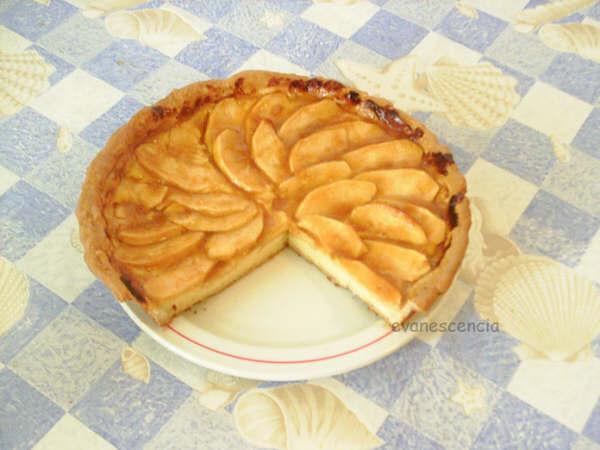 corte tarta manzana arriba