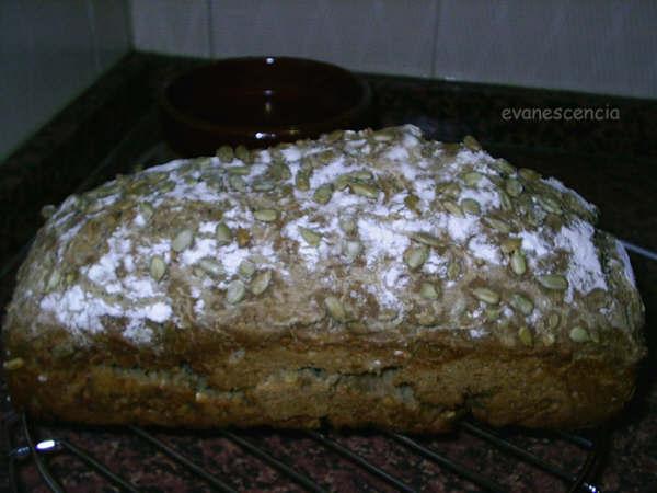 pan de pipas listo para comer