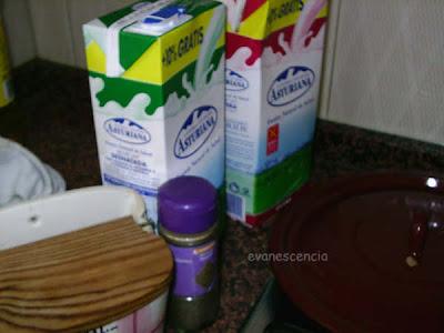 ingredientes extras para la salsa