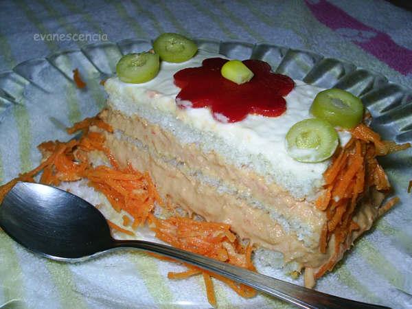 ración pastel de atún sandwichon