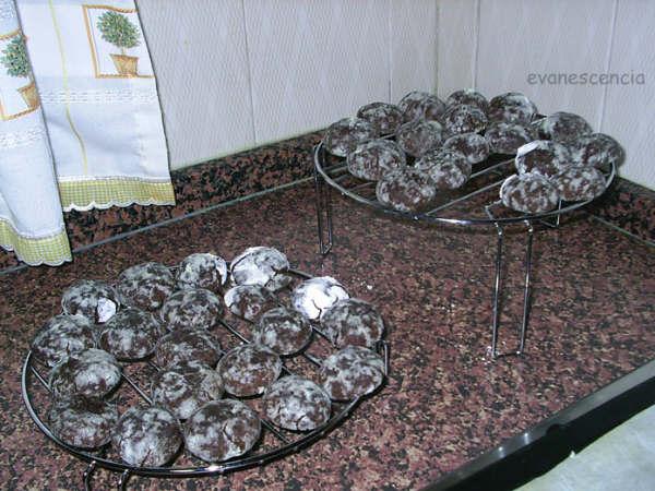 Todas las galletas horneadas