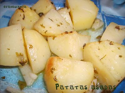 patatas asadas hiervas