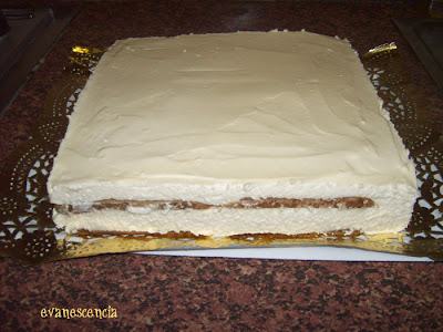 tiramisu desmoldado