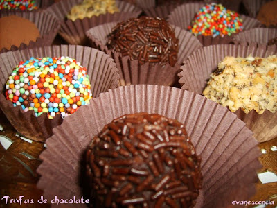 trufas chocolate
