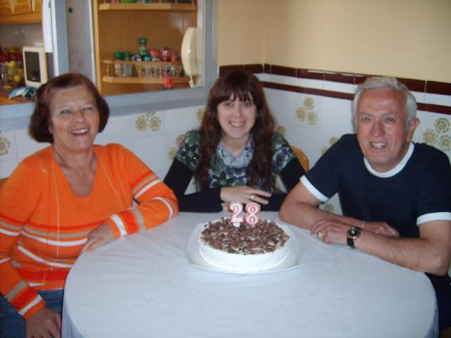 mis padres y mi hermana