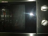 molde en el microondas