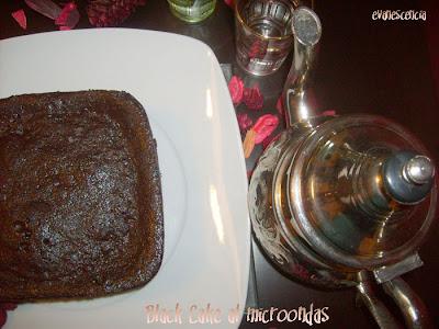 Black Rectangular Cake Board